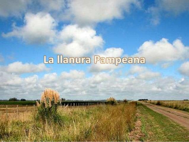 • El suelo y el clima de la llanura Pampeanapresentan condiciones optimas para laactividad agropecuaria. Aquí se encuentra...