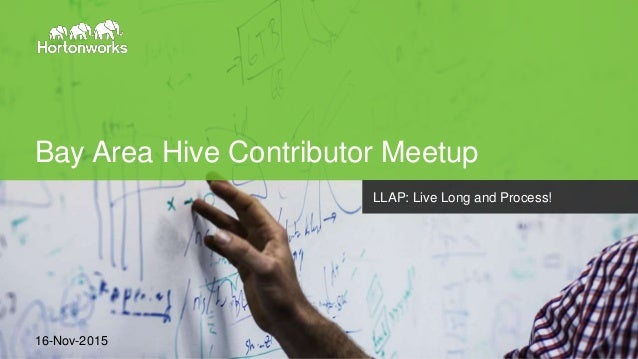 Page1 © Hortonworks Inc. 2011 – 2014. All Rights Reserved Bay Area Hive Contributor Meetup 16-Nov-2015 LLAP: Live Long and...