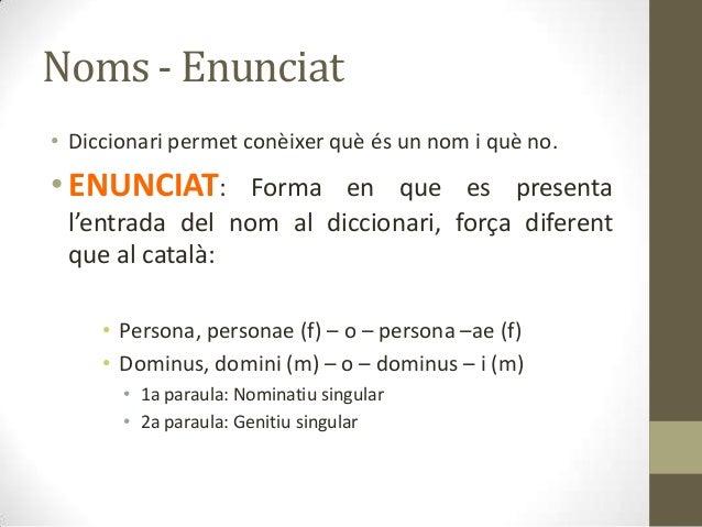 Llatí gramàtica 1 (1a declinació) Slide 3