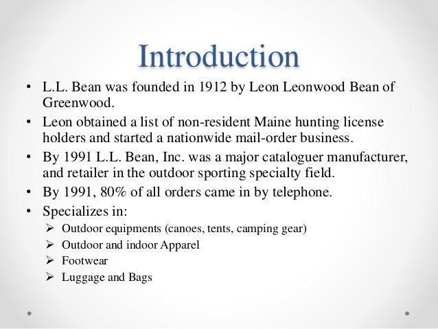 l.l. bean inc. item forecasting and inventory management pdf