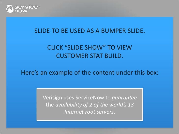 "SLIDE TO BE USED AS A BUMPER SLIDE.   The world's ""SLIDE SHOW"" largestenergy      TwoCLICK largestSix"" TO VIEW            ..."