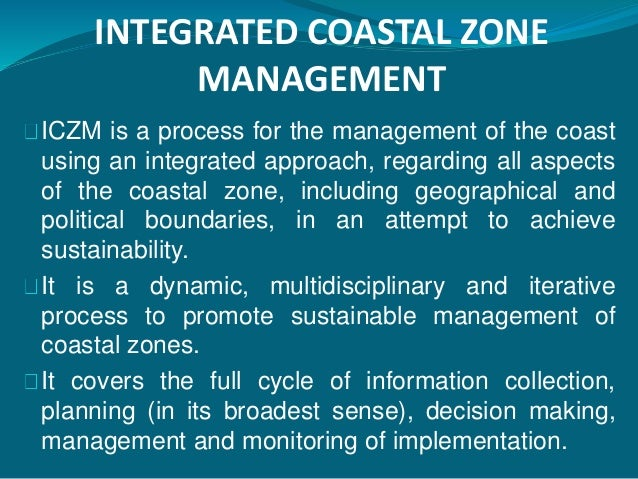integrated coastal zone management pdf