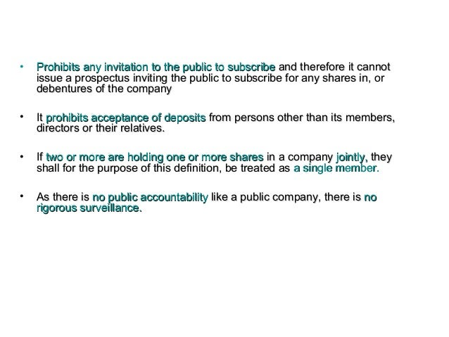 Llb ii cl u 11 introduction types of company 25 prohibits any invitation to the public stopboris Images