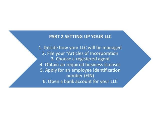 how to create a limited liability company