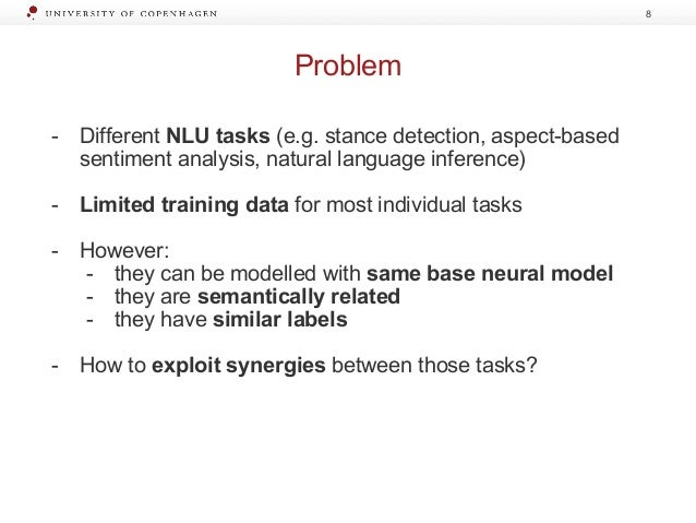 Learning with limited labelled data in NLP: multi-task learning and b…