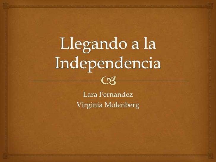 Lara FernandezVirginia Molenberg