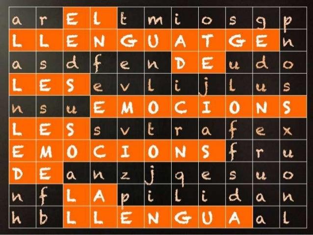 Llengua i emocions