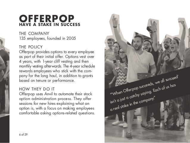 "6 of 29 ""'When Offerpop succeeds, we all succeed' isn't a just a catchy saying. Each of us has a real stake in the company..."