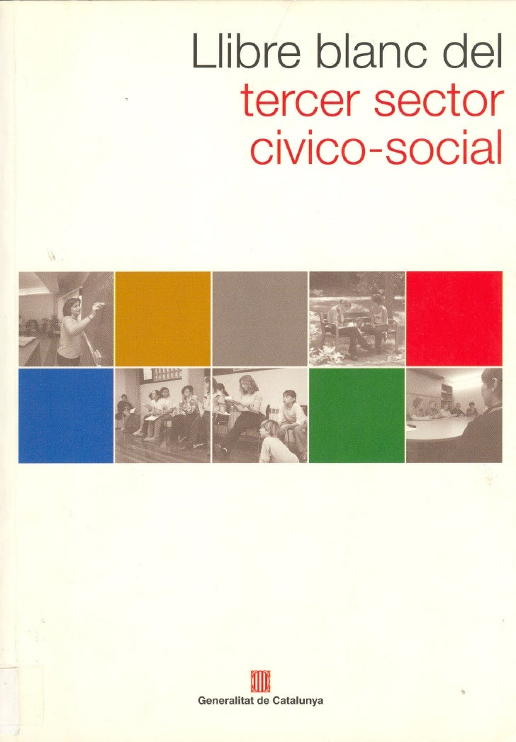 Llibre blanc deltercer sector cívico-social