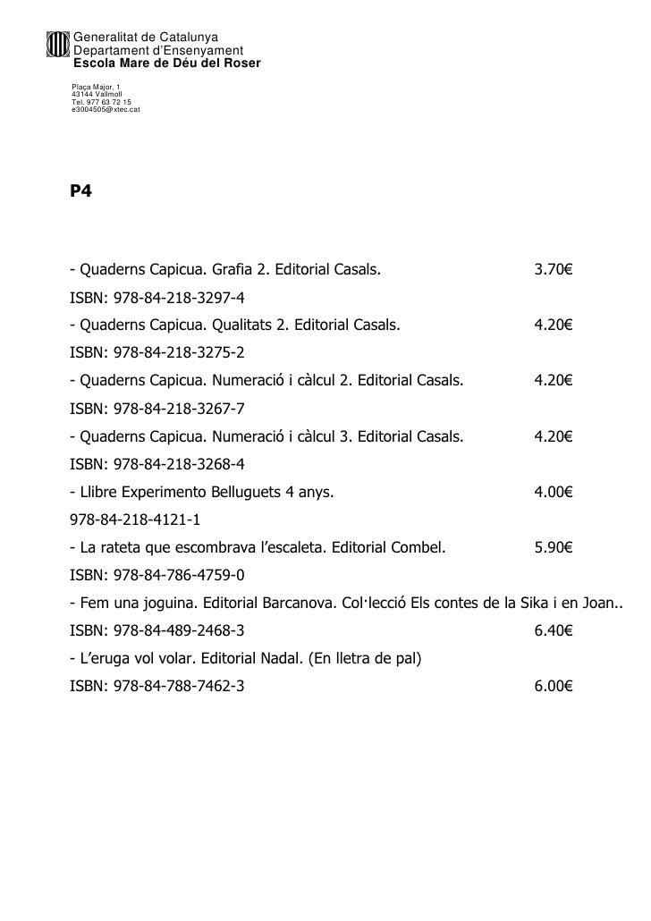 Llibres preus 2012 2013 Slide 2