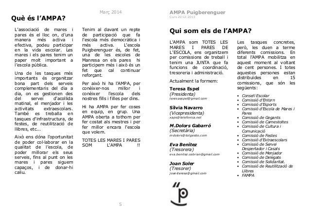 Llibret ampa curs 2013 2014v3-web Slide 3