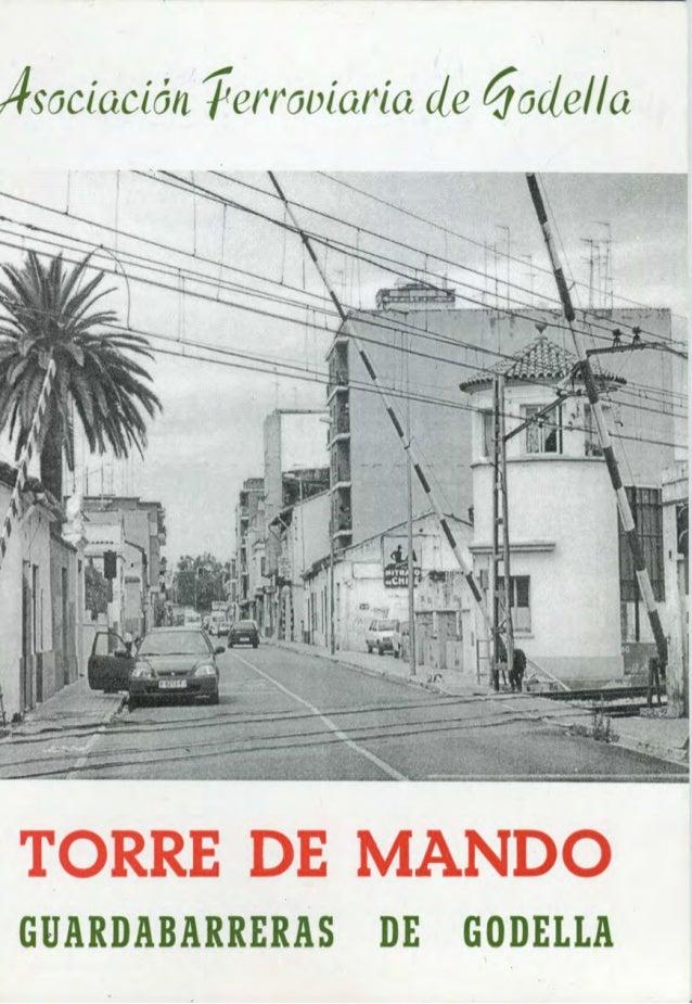 Llibret Torreta Associació Ferroviària de Godella