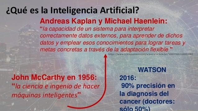 De la Inteligencia Artificial a la sabiduría humana Slide 3