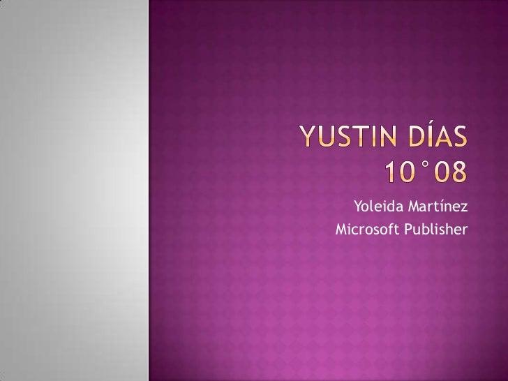 Yoleida MartínezMicrosoft Publisher