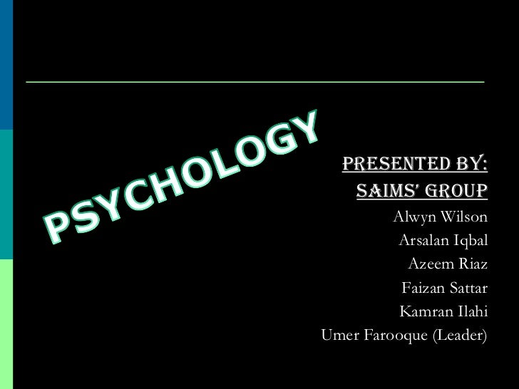 <ul><li>Presented by: </li></ul><ul><li>Saims' group </li></ul><ul><li>Alwyn Wilson </li></ul><ul><li>Arsalan Iqbal </li><...