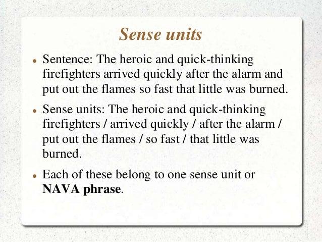heroic sentence