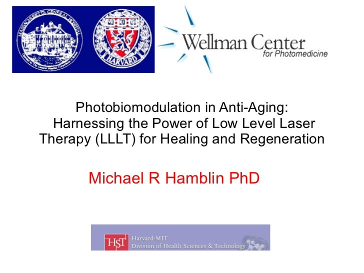 Photobiomodulation in Anti-Aging:  Harnessing the Power of Low Level Laser Therapy (LLLT) for Healing and Regeneration Mic...