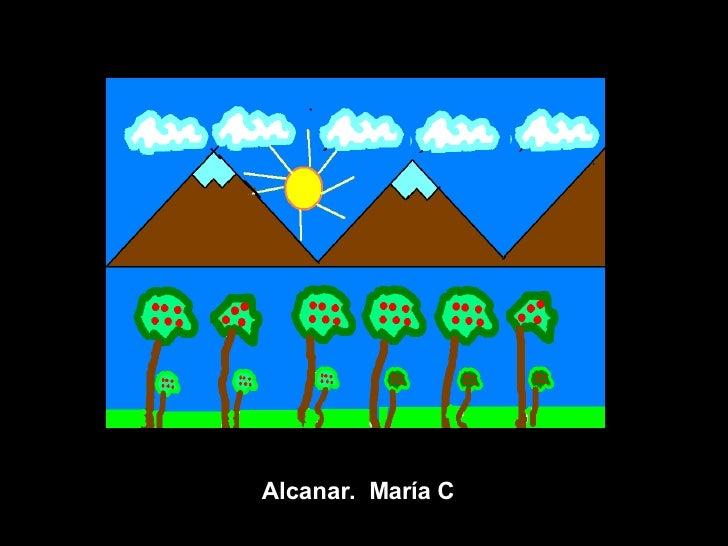 Alcanar.  María C