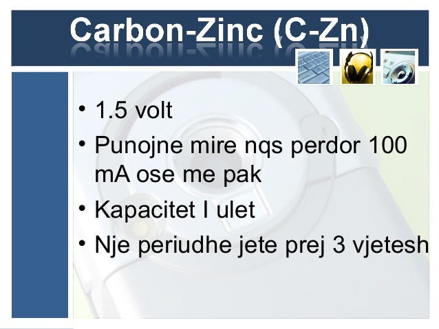 anode and anode collector Cathode collector MnO2 NH4Cl ZnCl2
