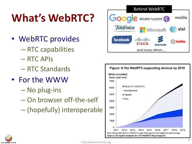 WebRTC business models beyond calls Slide 3