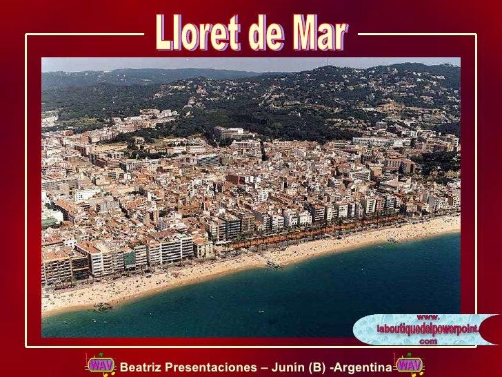 Lloret de Mar Beatriz Presentaciones – Junín (B) -Argentina
