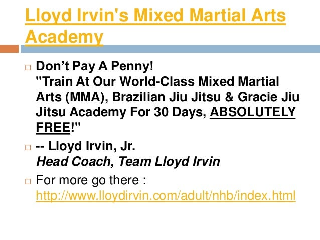 Lloyd irvin Slide 3