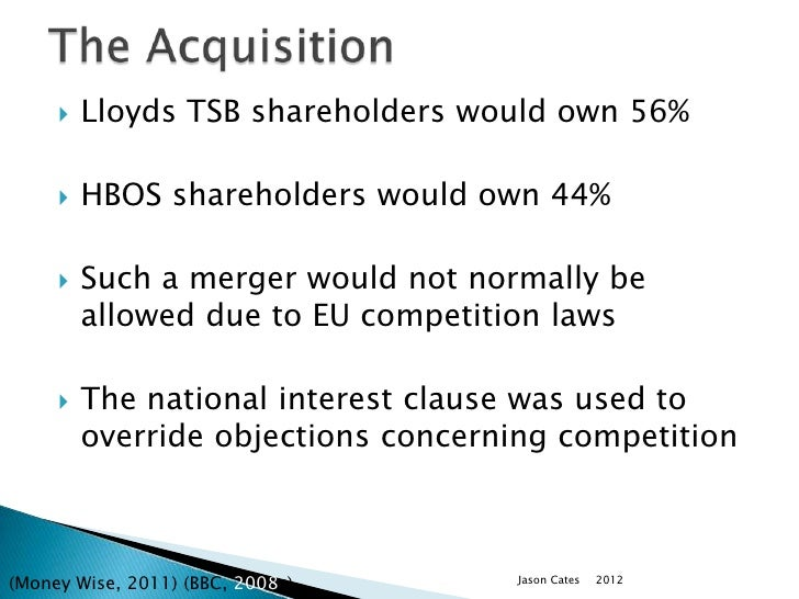 the takeover of hbos About 6,000 shareholders are suing lloyds over the ill-fated takeover of hbos in 2008.