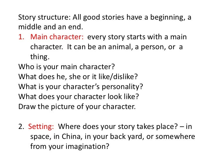 Llpi8.4 how to write a story