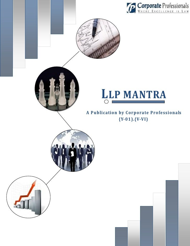 LLP MANTRA A Publication by Corporate Professionals               {Y-01).{V-VI)