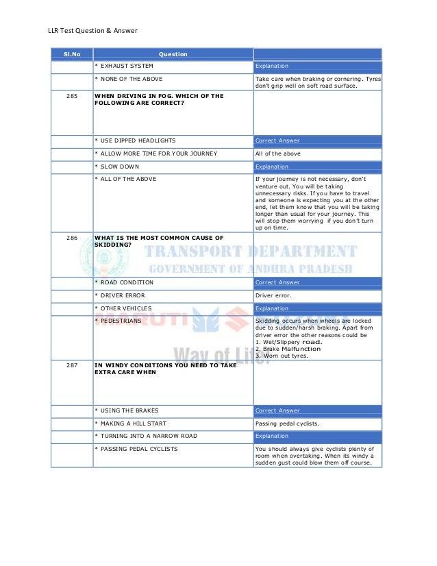 Llr test english_totalquestions