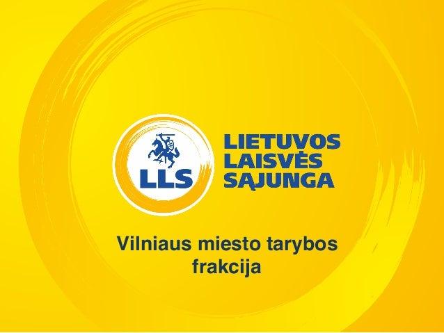 Vilniaus miesto tarybos frakcija