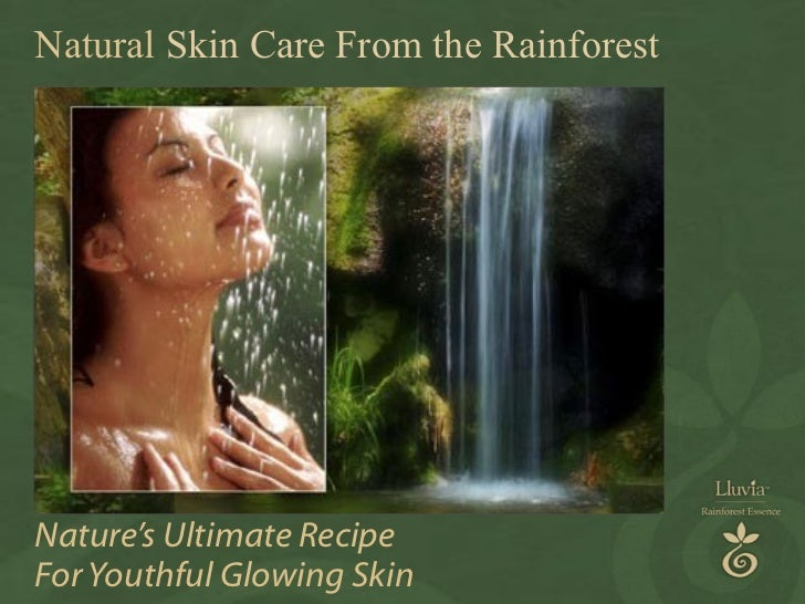 Nature's Ultimate Recipe For Youthful Glowing Skin Natural  Skin Care From the Rainforest
