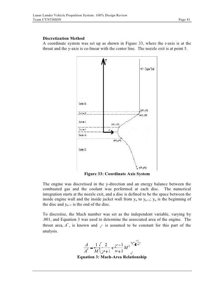 llv propulsion system 100 pct design report