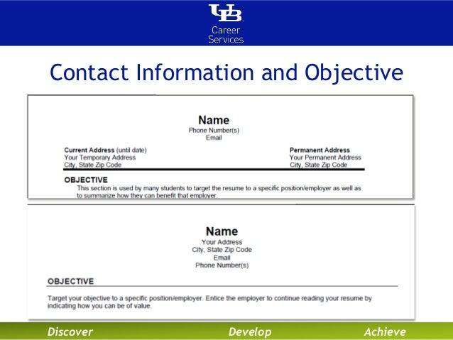 eye catching resume objectives