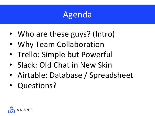 Team Collaboration: Slack, Airtable, Trello: What Makes Them