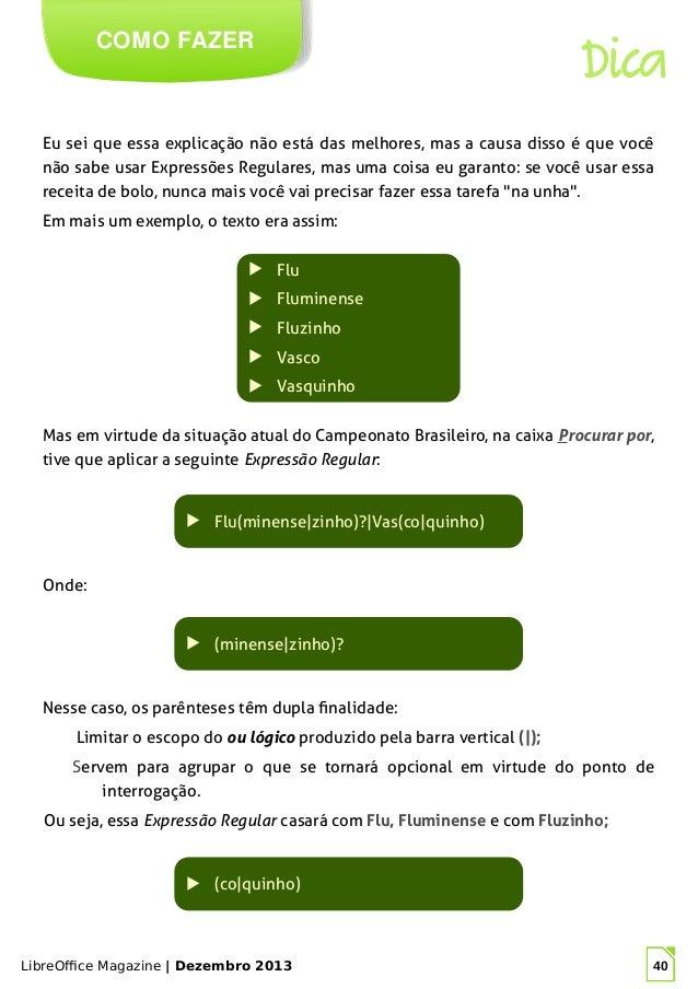40. LibreOffice Magazine ... 8c2b52a135a2f
