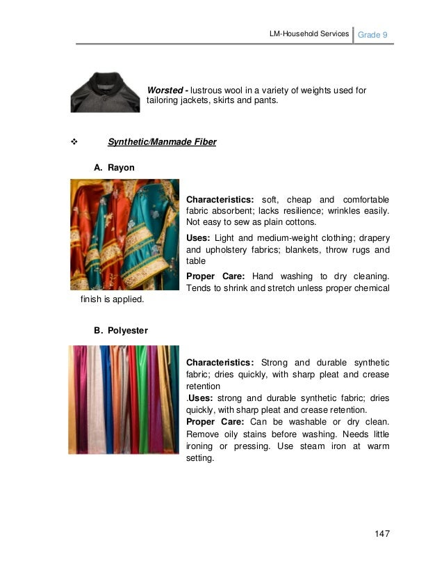 LM-Household Services Grade 9 147 Worsted - lustrous wool in a variety of weights used for tailoring jackets, skirts and p...