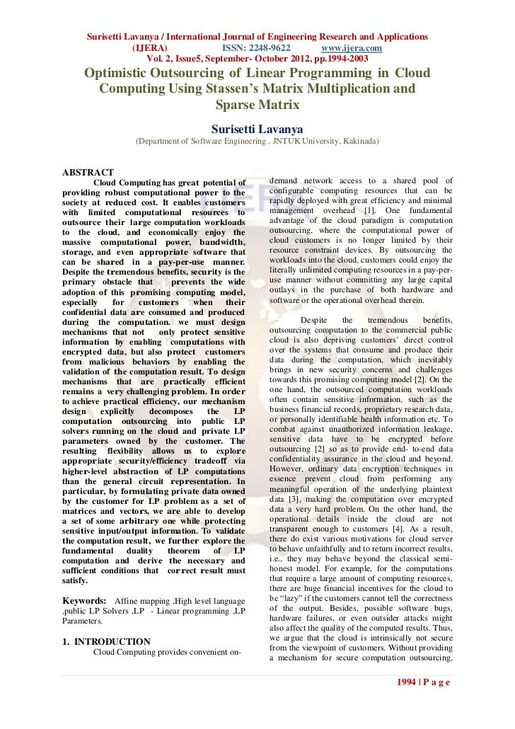 Surisetti Lavanya / International Journal of Engineering Research and Applications                  (IJERA)               ...
