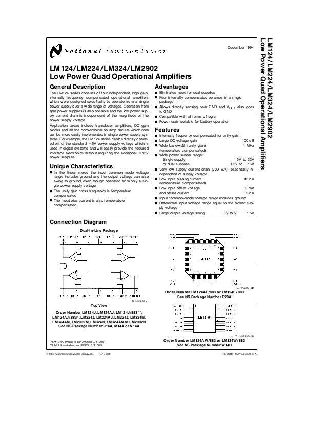 Lm 324 datasheet