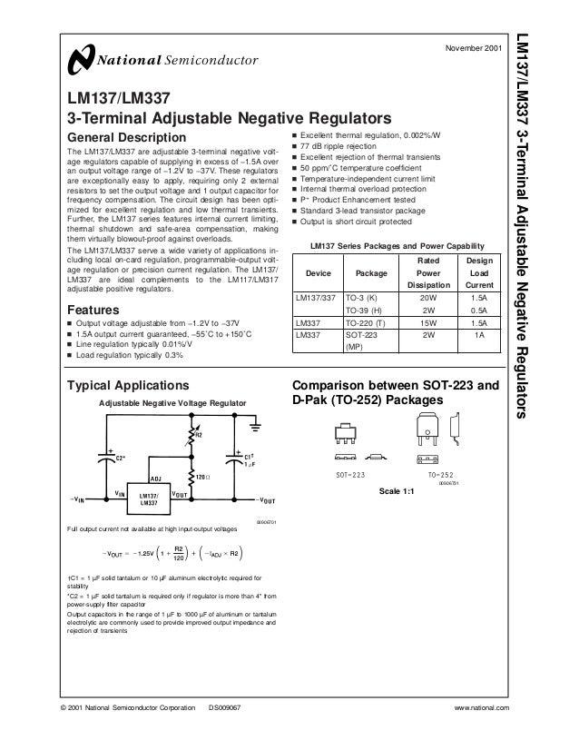 Lm 337 datasheet