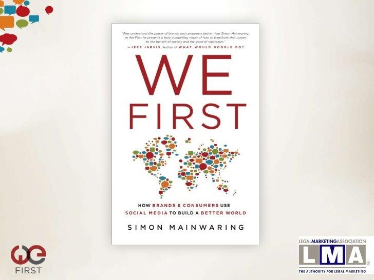 1. Global Recessionseminar@wefirstbranding.com     #LMALA              @simonmainwaring