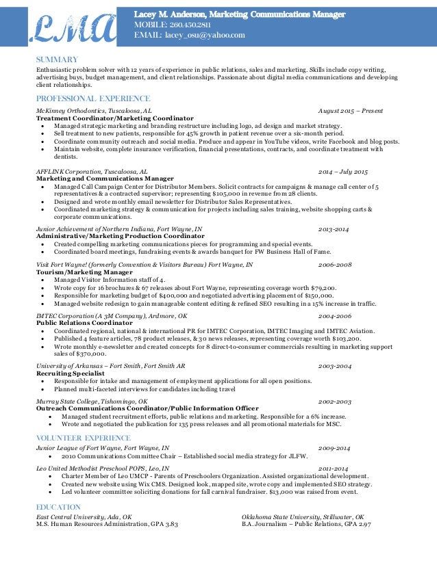 summary enthusiastic problem solver with 12 years of experience in public relations sales and marketing central head corporate communication resume