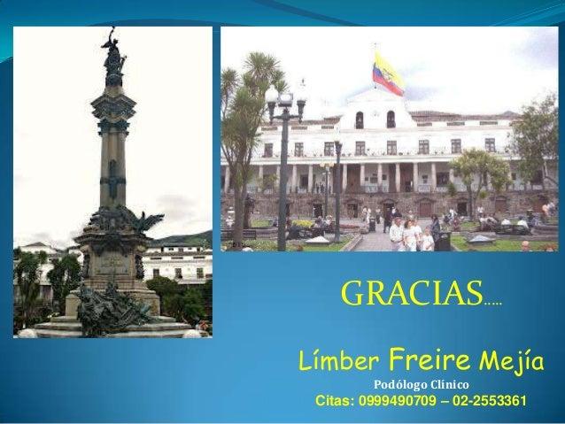 """DR. LIMBER FREIRE CONFERENCIA """"UÑAS"""""""