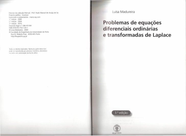 Director da colecção Manual. Prof. Paulo Manuel de Araújo de Sá     Luísa MadureiraProjecto gráfico. IncomunImpressão e ac...