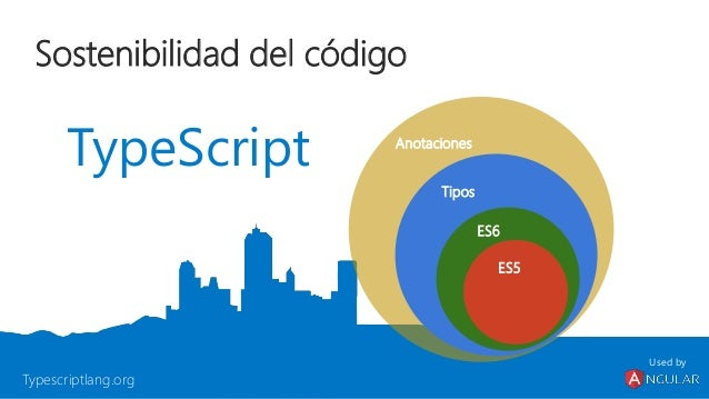 Tipado dinámico vs estático TypeScript Tipado dinámico Tipado estático opcional Tiempo de ejecución + depuración Tiempo de...