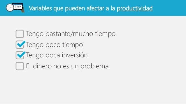 Tecnologías, problemas y soluciones