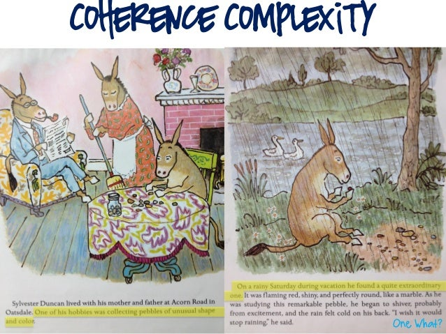 Coherence Complexity                       One What?