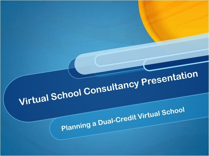 Current VirtualConsultancy                                  Common Issues                School StatusPresentation  Conten...
