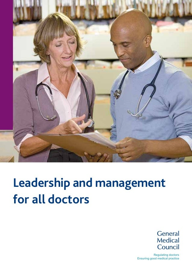Leadership and management for all doctors