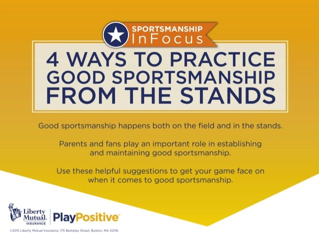 4 Ways to Practice Good Sportsmanship from the Stands for US Youth Soccer Slide 2